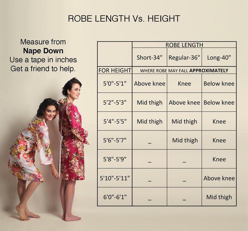 Bridesmaids Robes Kimono Crossover Robe Spa Wrap Perfect bridesmaids gift getting ready robes destination Wedding shower