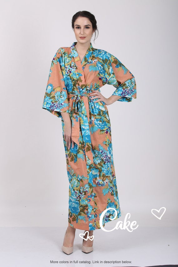 a01eee8709 Kimono Crossover Robe. Bridesmaids gifts. Getting ready robes.