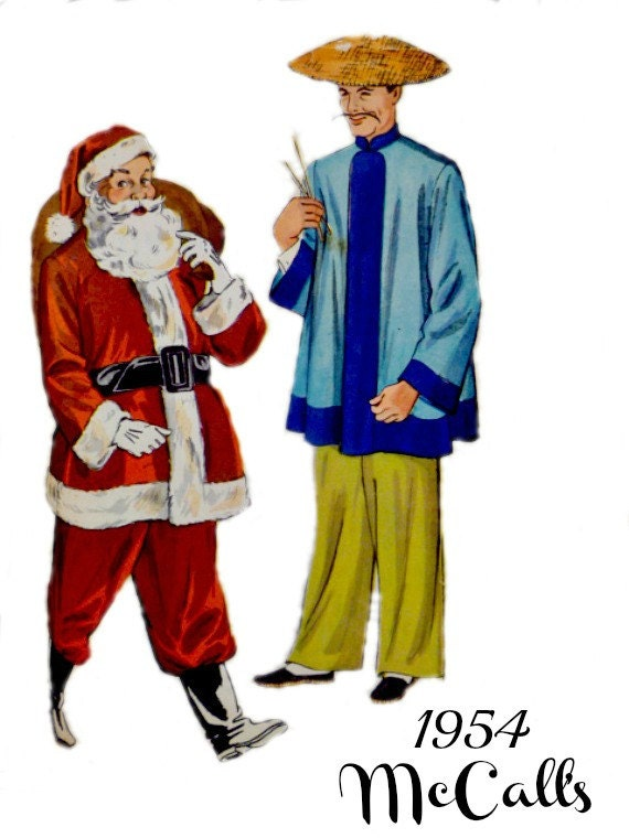 Vintage 50er Jahre McCall 1890 Kostüm Schnittmuster Größe   Etsy