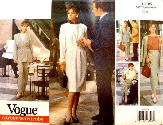 Costura Vogue Etsy 8 Vintage Doble 10 Patrón Años 6 Talla 1196 90 8PqwIx7qE