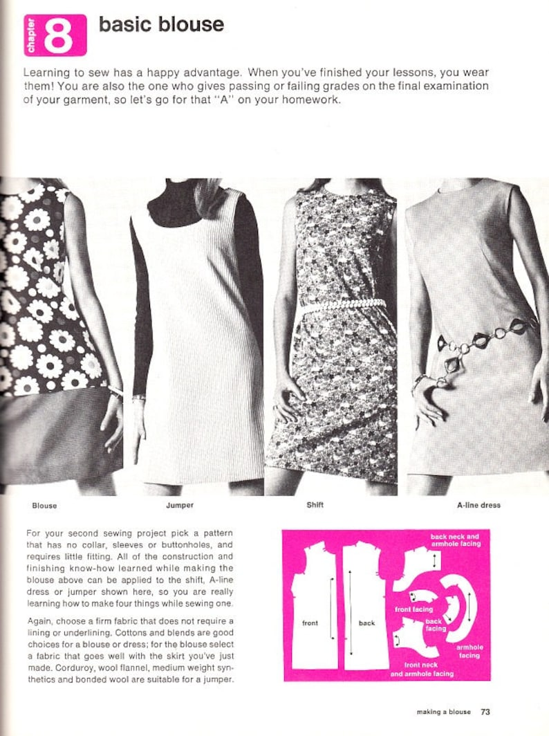 Search For Flights 1969 Simplicity Sewing Book 200 Photographs 32 Full Color Fashion Learn To Sew Other Decorative Collectibles Decorative Collectibles