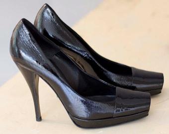 1f64ba3e83 Vintage Patent Leather Heels by Pierre Hardy Size 37,5FR