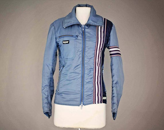 Vintage 1980's Hipster Jacket by Sportswear Toper