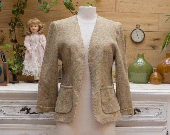 Vintage Valentino Beige Jacket