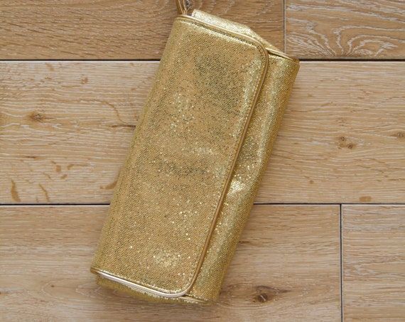 Vintage Gold Marc Jacobs Clutch