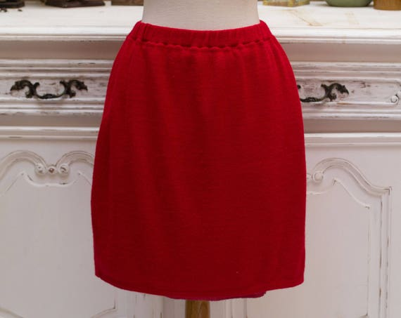 Vintage Mini Red Skirt