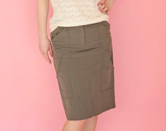 Vintage Ungaro Fuchsia Skirt Size 36/Small