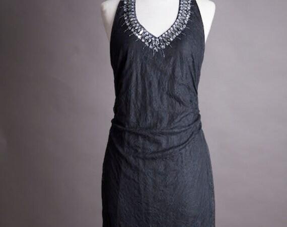 Sexy Black Lace Dress Size Medium
