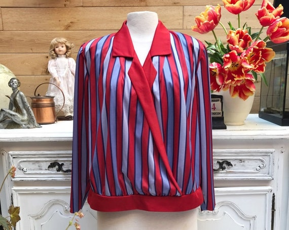Vintage Handmade Stripe Set Size X-Large