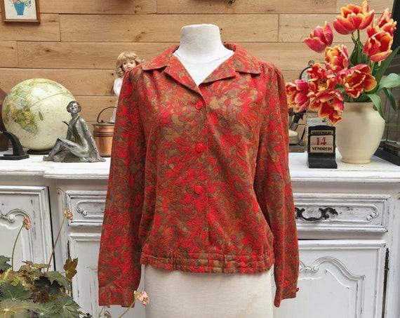 Vintage Handmade Blouse Size Large