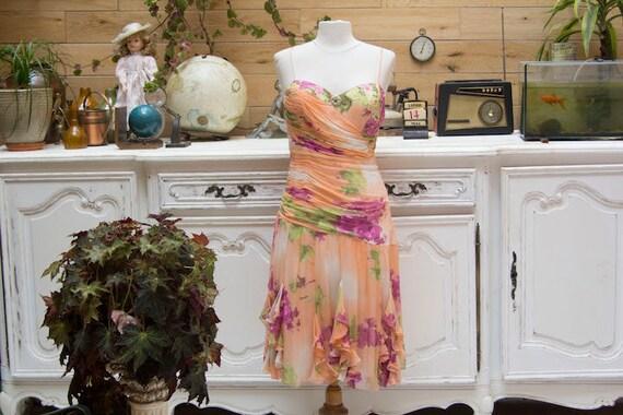 Vintage Silk Dress by Diane Freis