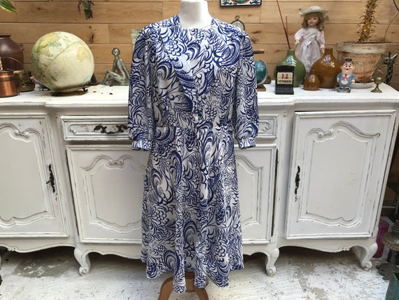 Vintage Handmade Long Dress Size Medium/Large