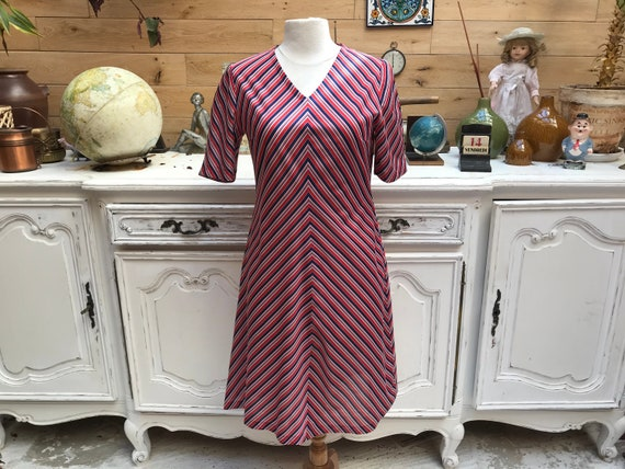 Vintage Handmade Short Dress Size Medium