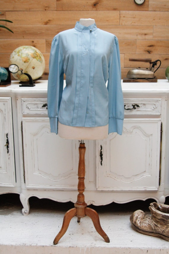 Vintage Light Blue Shirt