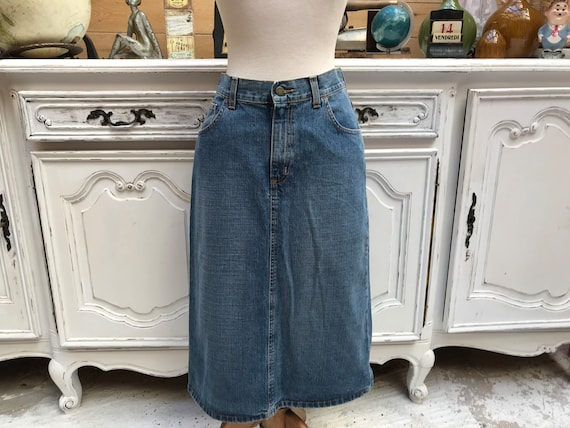 Vintage Jean Skirt by Hero Wrangler Size 30