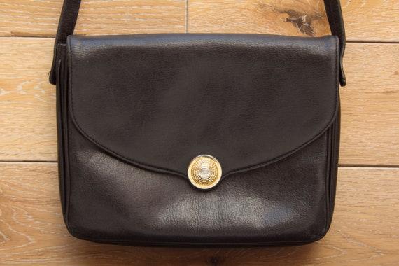 Vintage Pourchet Paris Handle Leather Bag