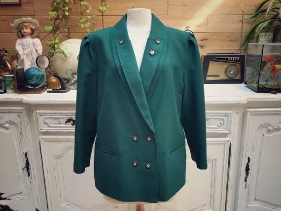 Vintage Green Style Jacket Size XL