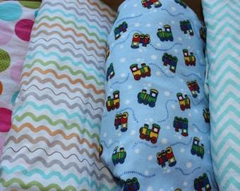 Fitted Crib Sheet - Beautiful Handmade Crib Sheet