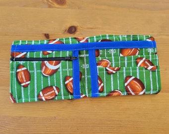 My First Wallet - Toddler Child Boys Girls Football Bifold Wallet