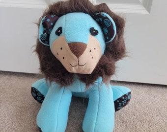 Adorable Handmade Stuffed Lion