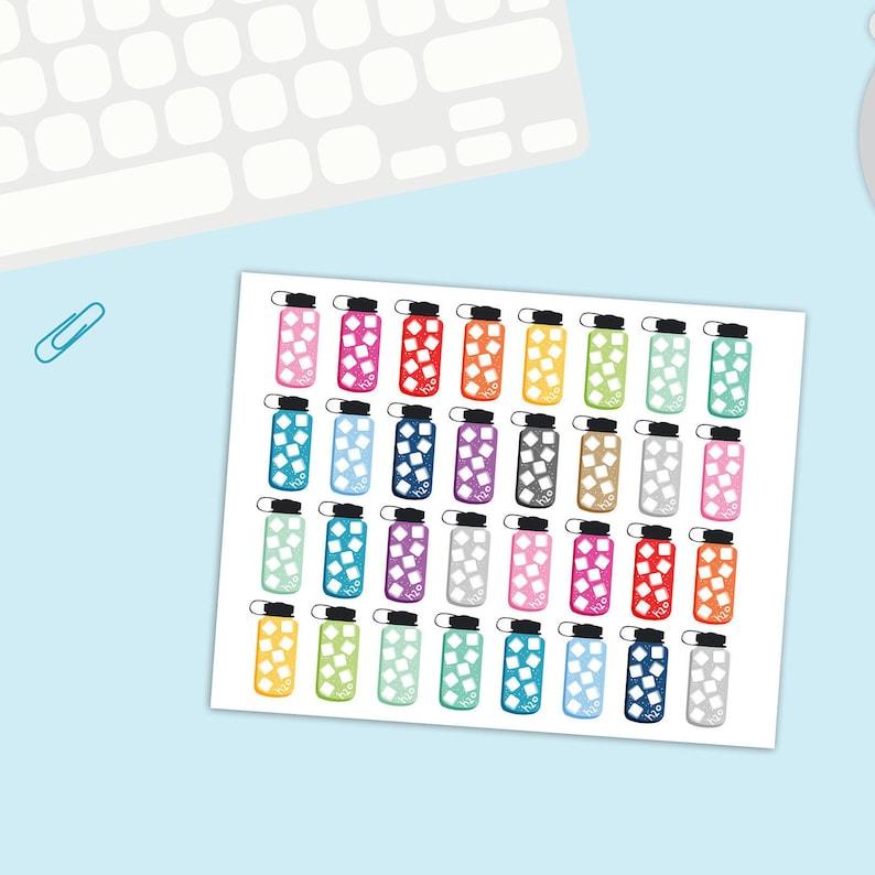 Fantastisk! Fantastisk mad Mini Water Tracker Stickers Water bottle stickers water | Etsy SR49