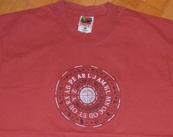 4b1556debc5 1990 s PEARL JAM vintage rare 1998 Concert Tour grunge rock t-shirt (M L)  Large tee tshirt GiFT Mookie Blaylock