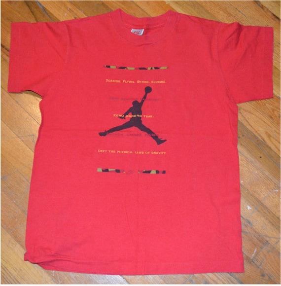 Nike Air Jordan vintage T Shirt Men's Large Chicago Bulls