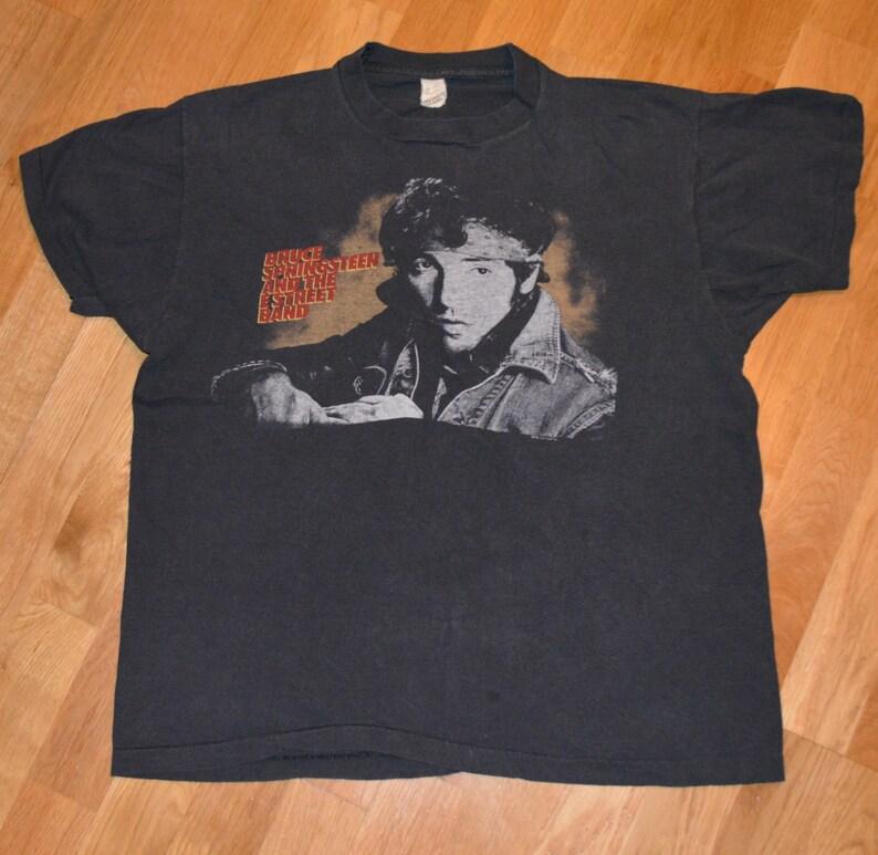 e1d3c280 1985 BRUCE SPRINGSTEEN vintage concert tour rare original rock | Etsy