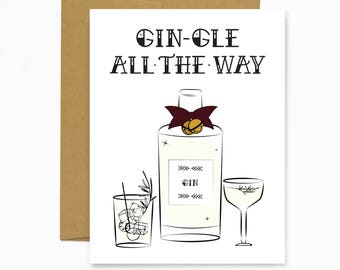 Gin-gle All The Way (Holiday Card)