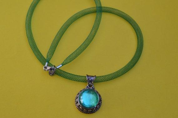 Necklace by SAJEN Silver Caribbean quartz