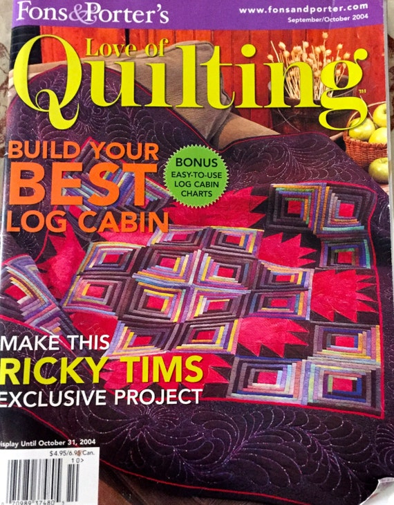 Fons And Porters Love Of Quilting Magazine Etsy
