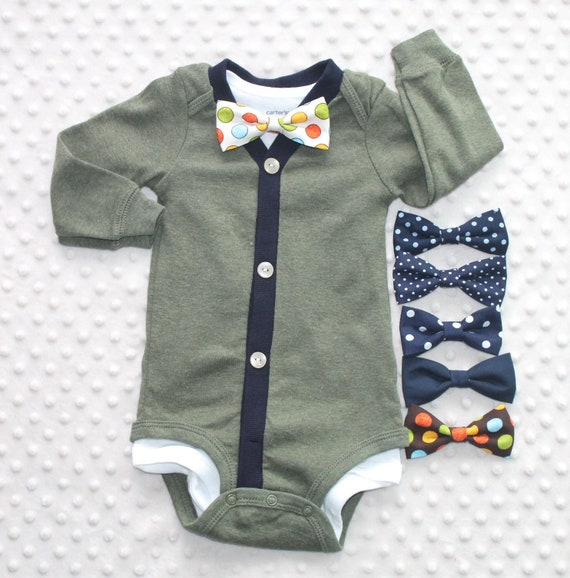 Baby Boy Cardigan and Bow Tie Set, Army Green, Blue, Baby Suit, Baby Boy  Outfit, Baby Boy Clothes, Trendy Baby Boy Outfit, Smash Cake Outfit