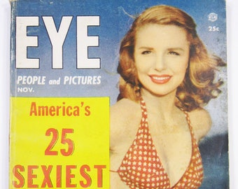 Vintage Eye Entertainment / Pin-Up Magazine Ft. 25 Sexiest Pinups November 1954 Vol.4 No.11