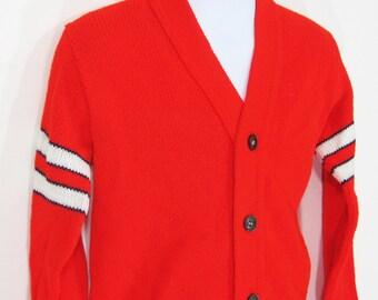 Vintage Dr. Denton s Cardigan   Sweater (kids) Sz.3 1970 s 90516f573
