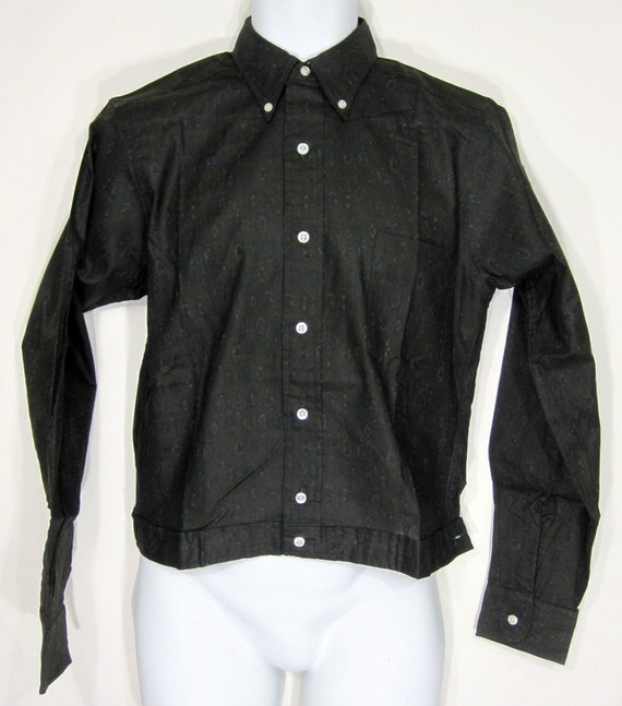 Vintage Deadstock BVD Brand Alma Mater Shirt Jac S