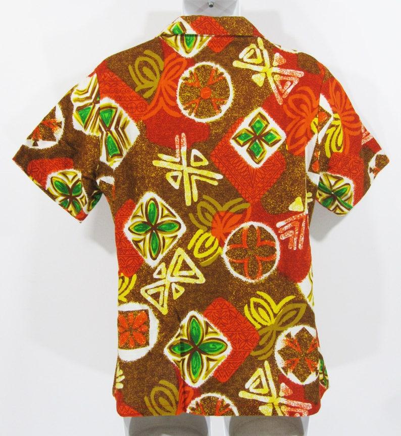 Vintage Kings Road Shop By Sears Aloha Shirt Sz.L 1960/'s