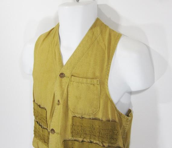 Vintage American Field Hunting Vest by Hettrick Mf