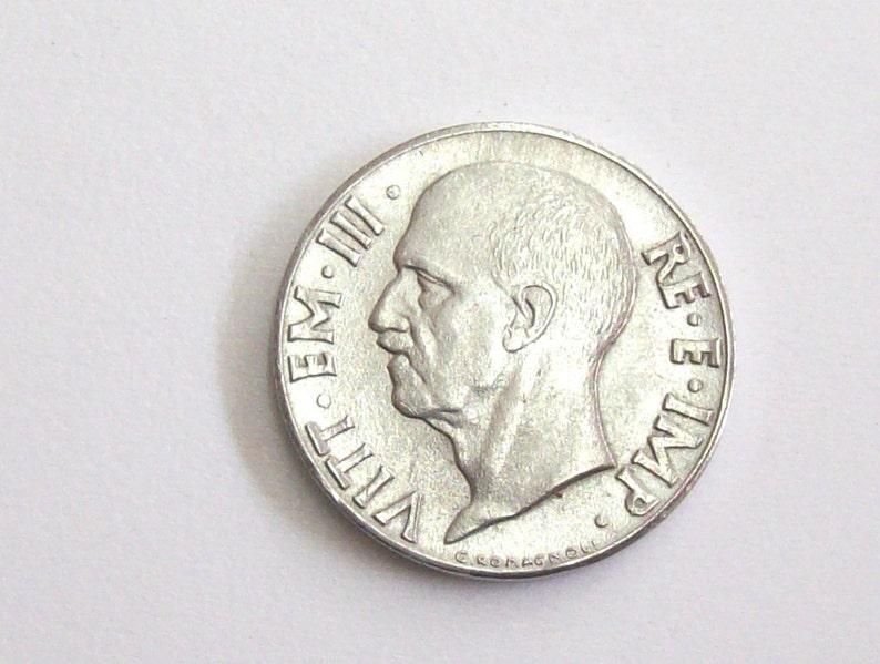 fb4b3ab33c Moneta di 20 cent Italia 1942 antico dell'annata. Regno | Etsy