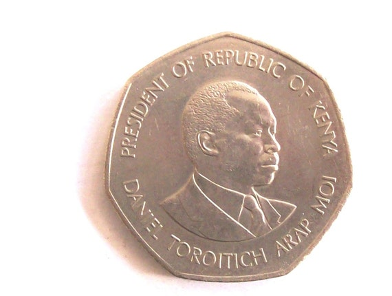 Jahrgang Kenia 1985 5 Schilling Münze Republik Kenia Etsy