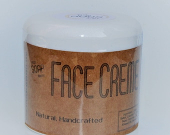 Natural Moisturizing Face Cream, Face Moisturizer - Natural Skin Care, Cocoa Butter Cream