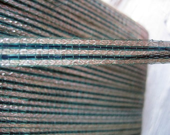 Antique Vintage Metallic Tinsel Trim Ribbon (Ref A-4385 Box 2)