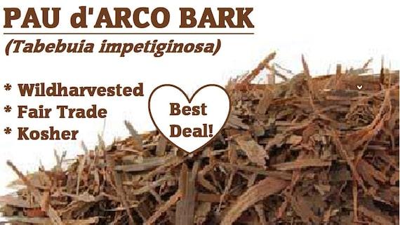 Bulk Herbs Pau Darco Bark Wild Harvested
