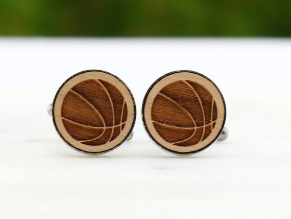Wooden Accessories Company New Orleans Cufflinks Wood Cufflinks Hand Made in The USA