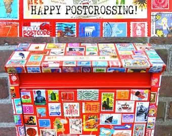 El' Papel ansichtkaart brievenbus 'Happy Postcrossing'
