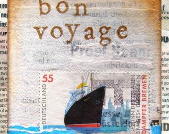 "El' Papel ansichtkaart ""Bon Voyage"""