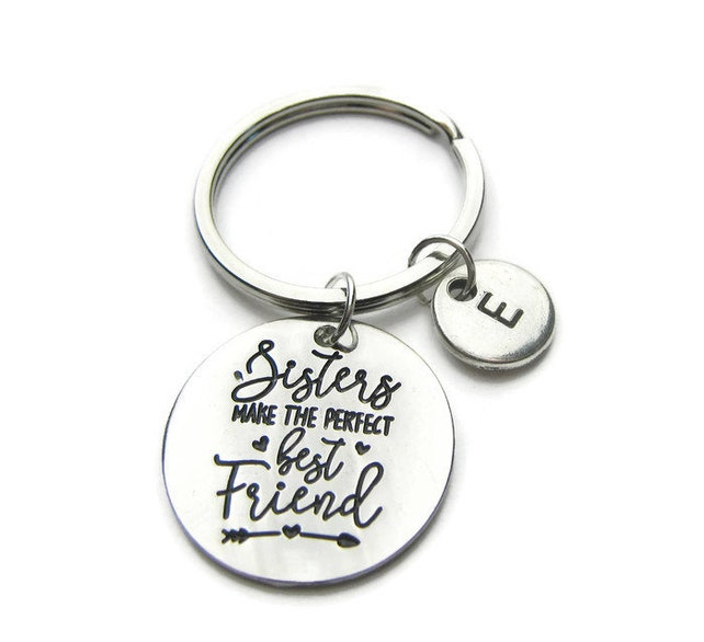 Sister Keychain Keychain For Sister Sisters Make The Perfect Etsy