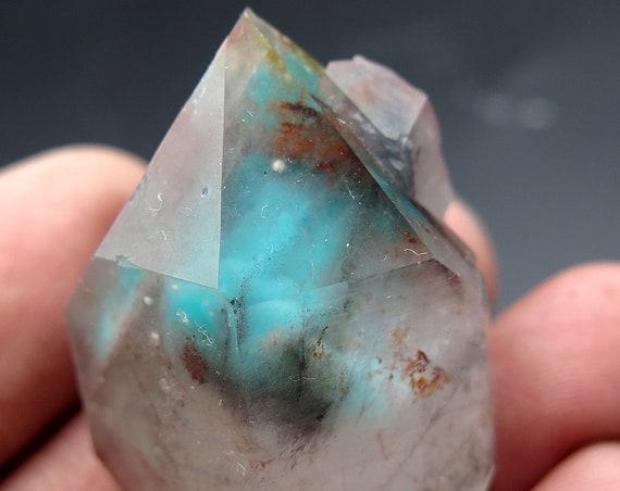 32.8 gram Ajoite Crystal Floater from the Razor Pocket 2010 Artonvilla Mine, Messina, SA