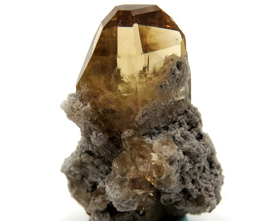 5.6 gram Natural gem Topaz from Thomas Range, Utah USA