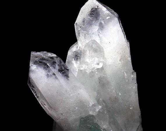 Fuchsite Included Quartz Crystal Cluster Selfhealed