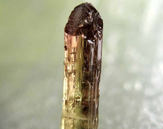 7.5 carat Beautiful Etched Tourmaline from Baixão claim, Taquaral, Itinga, Minas Gerais, Brazil